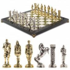 Шахматы Великая Отечественная война мрамор змеевик