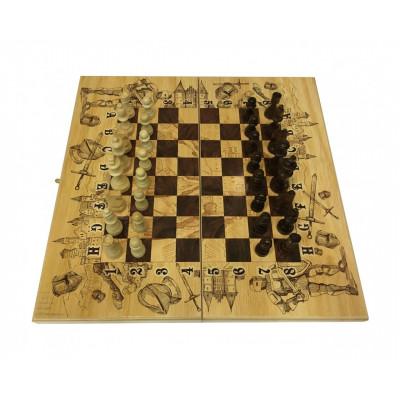 Шахматы с нардами Рыцари