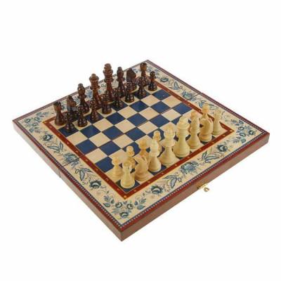 Шахматы нарды шашки Гжель