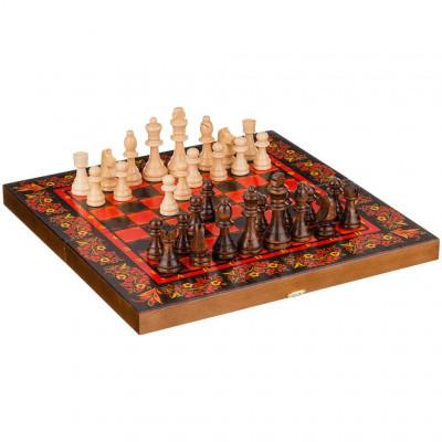 Шахматы нарды шашки Хохлома