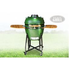 Гриль Start Grill 57 см, зеленый с окном