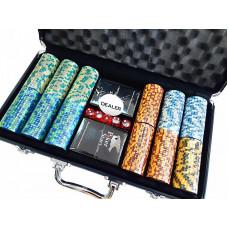 Набор для покера Monte Carlo на 300 фишек
