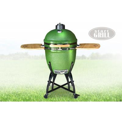 Гриль Start Grill 57 см, зеленый