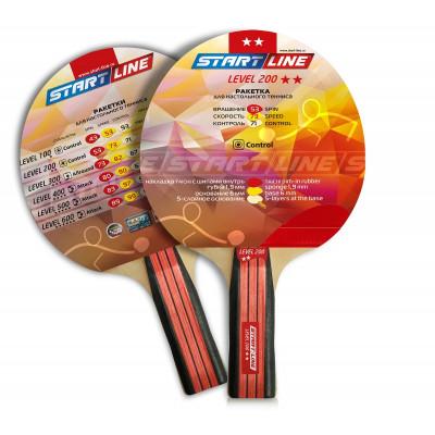 Ракетка для настольного тенниса Level 200 (анатомическая)