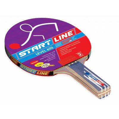 Ракетка для настольного тенниса Level 600 (прямая)