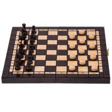 Шахматы шашки 2 в 1 Мадон