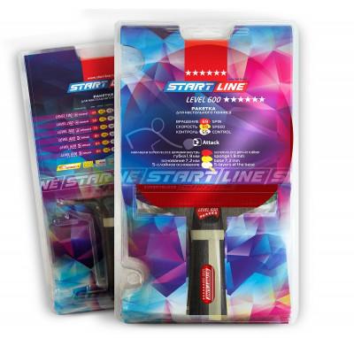 Ракетка для настольного тенниса Level 600 (коническая)