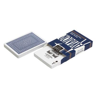 """Игральные карты """"Aviator"""" синяя рубашка 54 листов"""