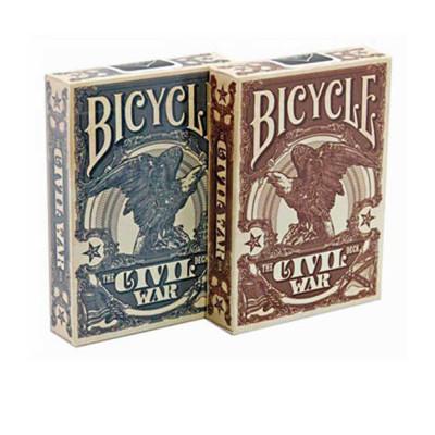 """Коллекционные карты Bicycle """"Civil War"""" 54 листа"""