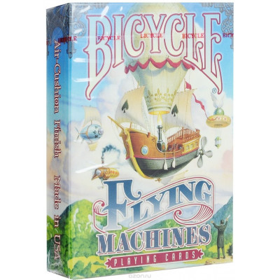 "Коллекционные карты Bicycle ""Flying machines"" 54 листа"