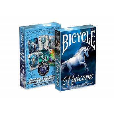 "Коллекционные карты Bicycle ""Unicorns"" 54 листа"