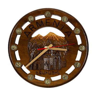 Часы резные 702