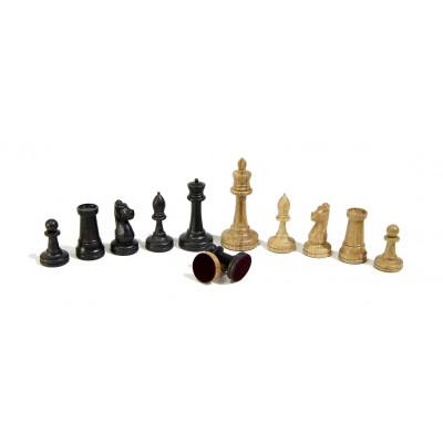 Шахматные фигуры Стаунтон дуб с утяжелением