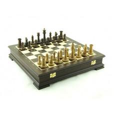 Шахматы в ларце Стаунтон венге