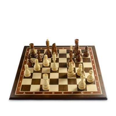 Шахматы Бастион венге люкс