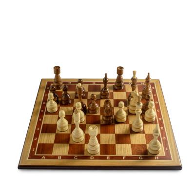 Шахматы Бастион дуб люкс