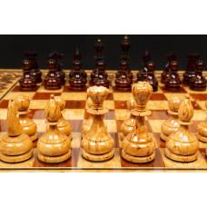 Шахматы Элитные (карельская береза)