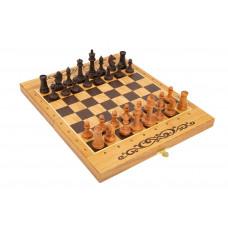 Шахматы нарды шашки Авангард дуб средние