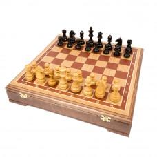 Шахматы Стаунтон люкс дуб