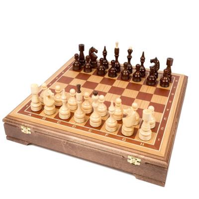Шахматы Бастион стаунтон дуб
