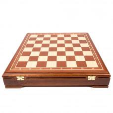Шахматный ларец Стаунтон махагон