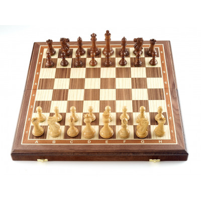 Шахматы Эндшпиль орех большие