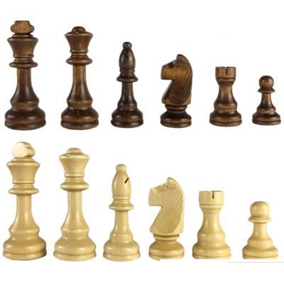 Шахматные фигуры Стаунтон без утяжеления