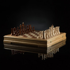 """Шахматы """"Стаунтон Фаворит"""" (светлая доска)"""