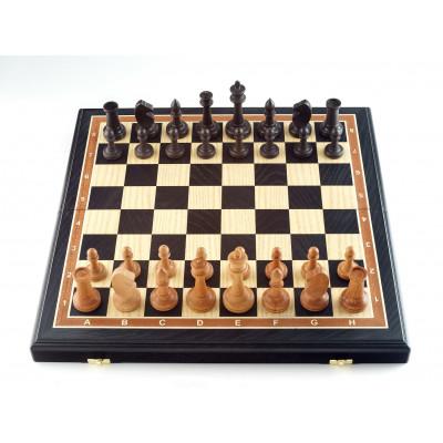 Шахматы Этюд мореный дуб большие