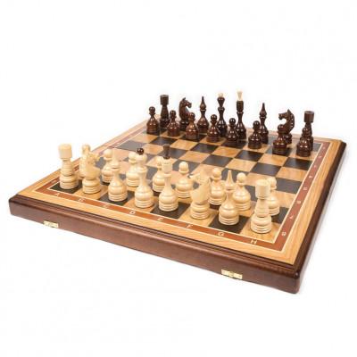 Шахматы Бастион дуб большие
