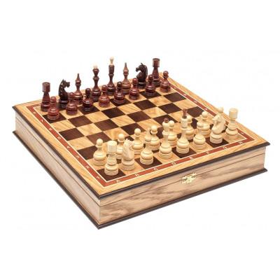 Шахматы дубовые Бастион