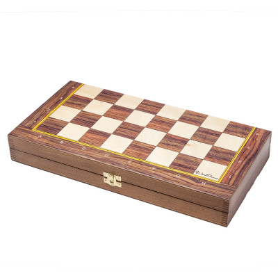 Шахматная доска Авангард средняя