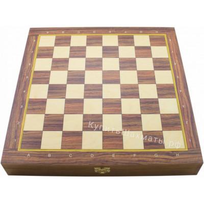 Шахматная доска Авангард Ларец средний