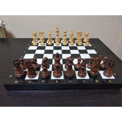 Шахматы каменные Престиж