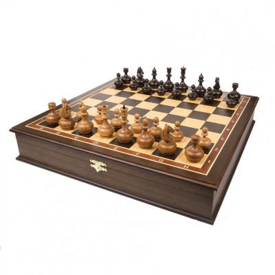 Шахматы в ларце Бочонок
