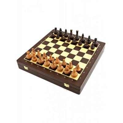 Шахматы ларец Бочонок венге 4.5
