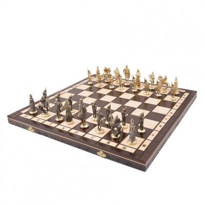 Шахматы подарочные Русские Бронза