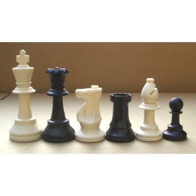 Шахматные фигуры Пластик без утяжеления