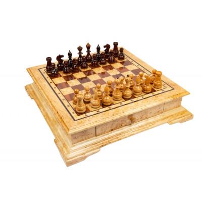 Шахматы Императорские карельская береза