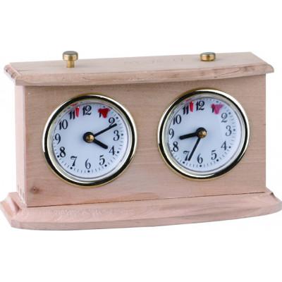 Механические часы Рубин Люкс в деревянном корпусе