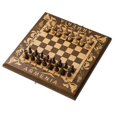 Шахматы резные Деметра 30, Haleyan
