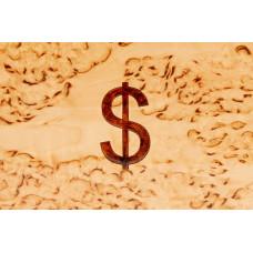 Шкатулка для денег Доллар