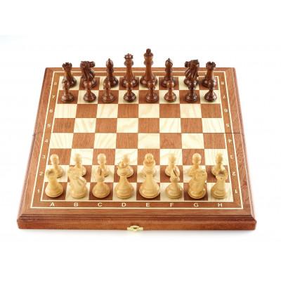 Шахматы Эндшпиль махагон средние