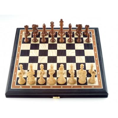 Шахматы Эндшпиль мореный дуб средние