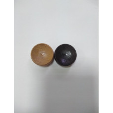 Фишки для нард 25 мм венге-бук