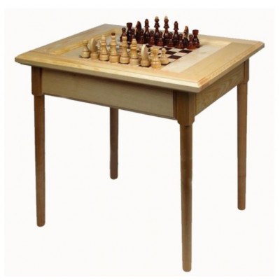 Шахматный стол Турнирный светлый