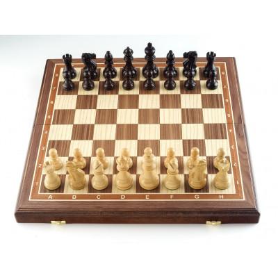 Шахматы Гамбит орех большие