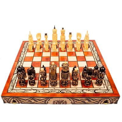 Шахматы резные Немцы складные большие