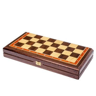 Шахматная доска складная Турнирная венге 4.5