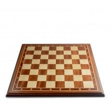 Шахматная доска нескладная махагон 4